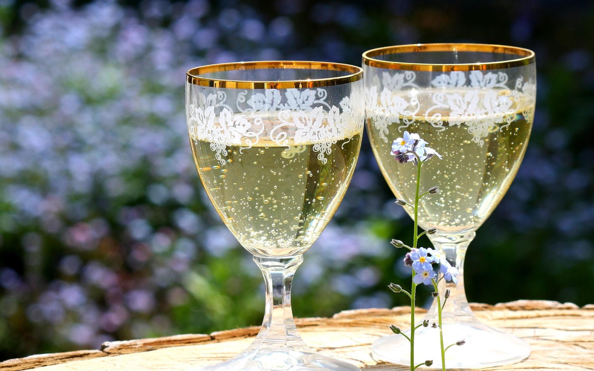 storia dello champagne